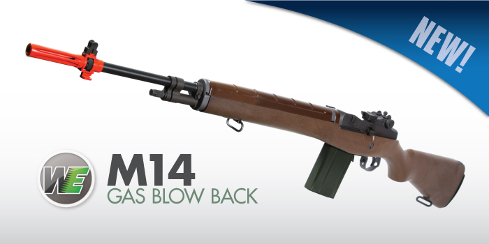 WE M14 Gas Blow Back